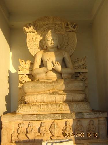 Buddha, Shanti Stupa, Dhauli