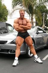 Gary Strydom 2006 Venice Beach CA (112) (Pete90291) Tags: pecs muscles arms muscular chest bodybuilder biceps abs quads musclemen ifbbpro probodybuilder garystrydom ifbbbodybuilder professionalbodybuilder