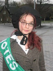 061214 SYG Suffragettes 016 (Gary Dunion) Tags: politics votes suffragettes scottishyounggreens scottishgreenparty juliettedaigre