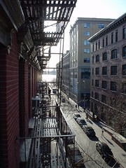 West on Horatio From Fire Escape by outregis, on Flickr
