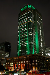 Marunouchi Building emerald crown