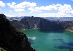 Laguna Quilotoa 3 (magnusvk) Tags: lake green ilovenature ecuador colorful crater andes craterlake lagunaquilotoa quilotoaloop