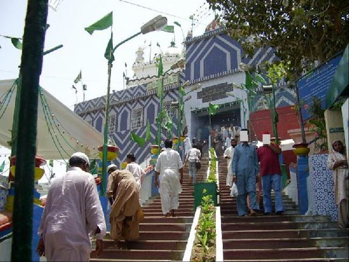 Image result for Shrine of Abdullah Shah Ghazi, Karachi