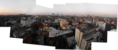 On a rooftop in Bukresh (| spoon |) Tags: sky panorama rooftop colourful bucharest