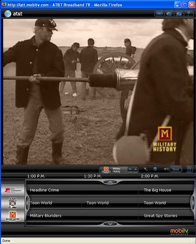 MobiTV PCTV 1.2 Screenshot