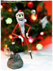 HO HO HO~~~(Santa Jack Skellington) (EdwardLee's collection) Tags: santa christmas skeleton jack toy toys collection explore merry timburton nightmarebeforechristmas nbx edwardlees