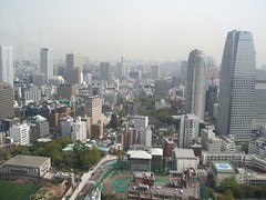 Vistas desde la Tokyo Tower