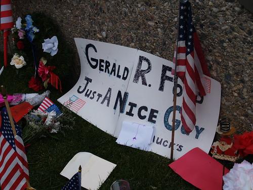 Gerald R. Ford Memorial - December 29, 2006