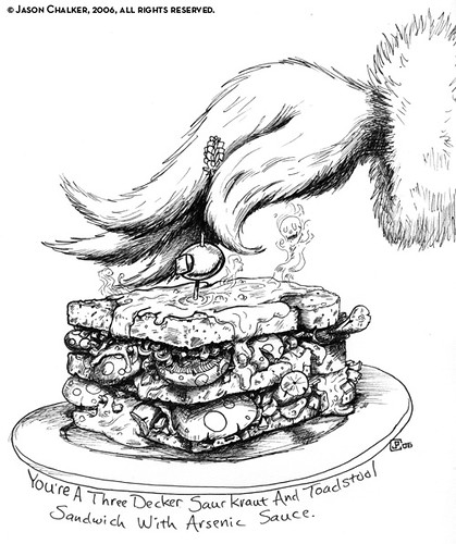 Grinch Sandwich
