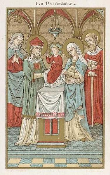 2 de fevereiro: Festa da purificação de Nossa Senhora