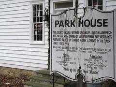 Park House Sign