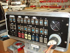 P7110041 (mtneer_man) Tags: panel case pa rack soundsystem patch mains touring
