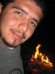 Retrato fogoso