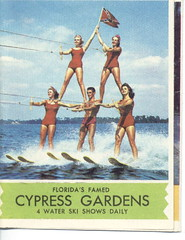 Cypress Gardens Flyer & Map (Cowtools) Tags: vintage florida ephemera cypressgardens