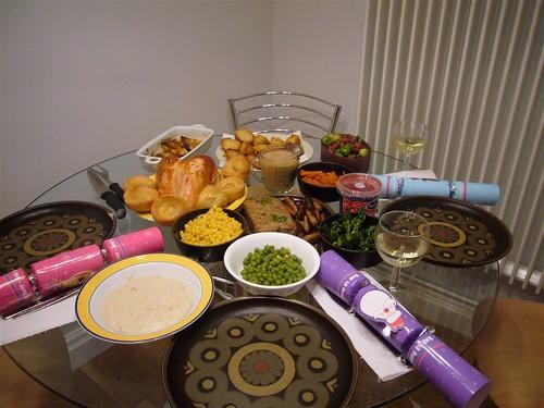 christmas 2006 roast dinner