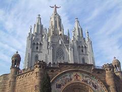 Tibidabo Sanctuary Barcelona, Exterior