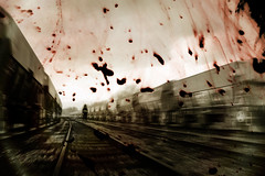 The Last Stop (Matt West) Tags: death blood accident spirit ghost tracks railway trains gore horror coal coalville views1000 views900