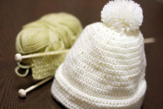 かぎ針編み・帽子