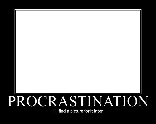 Genios de la Procrastinación