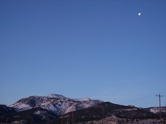 Moon Over Mt. Rose