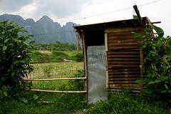 toilet laos