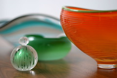 handle with care (Veronika Lake) Tags: glass collection utata bowls artglass perfumebottle canadianmade utatacollection utata:color=black utata:description=hide