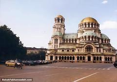 The very impressive Aleksander Nevsky church