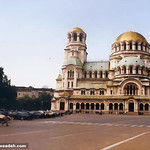 The very impressive Aleksander Nevsky church