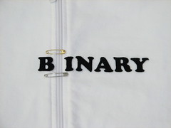 Binary sweatshirt