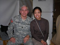 Getting to Baghdad (It's Michelle Malkin) Tags: hot army war military air iraq palace baghdad troops