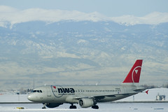 Northwest Airlines A320 - by terraplanner