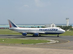 VP-BPX Transaero B742 (╚ DD╔) Tags: male airport aircraft jet international maldives didi runway b747 aerodrome mle hussain hulhule transaero vrmm atcdd vrhie bhie gvcat tfatk gccma vpbpx