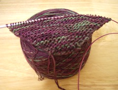 Saphire Purple Shawl