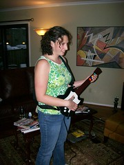 Mel Rocking Out (Jym Ferrier) Tags: mel guitarhero