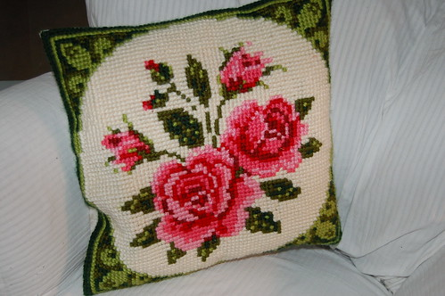 Rose pillow I made