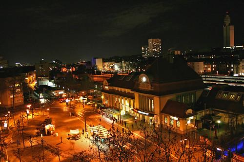 Frankfurter Südbahnhof mit Diesterwegplatz