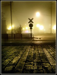 foggy night (jody9) Tags: railroad fog night oregon astoria utatafeature abigfave utata:project=lowlight utata:project=bookcover