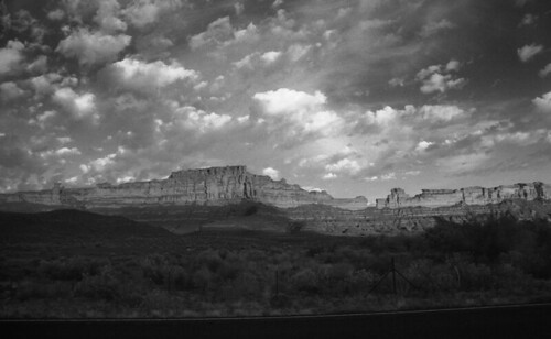 Comb Ridge in Black and White