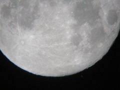Moon & Saturn (Fermion) Tags: sky moon night lune space satellite craters ciel crater planet astronomy universe espace solarsystem astronomie plante univers cratre cratres systmesolaire