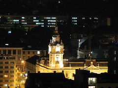 Cluj City Hall (sonykus) Tags: city night hall long exposure cityscape shot nightshot romania transylvania cluj clujnapoca