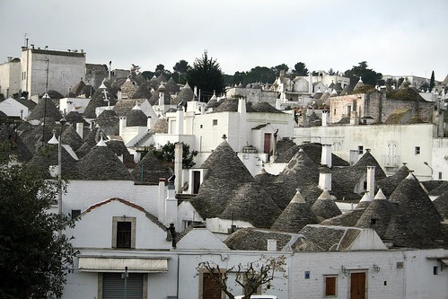 Alberobello's trulli concentration