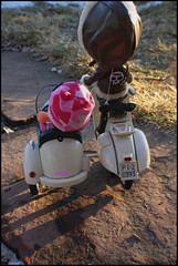 There Goes Trouble! (rockymountainroz) Tags: vespa dal pullip diva darling bhc gerta junplanning drta thedivinemissd joeykblythe