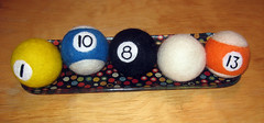needle felted billiards project 4.0
