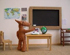 Pudú in the classroom