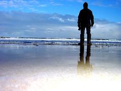 seaton sluice (MM ) Tags: blue sea cold wet silhouette clouds coast spring northumberland northeastcoast seatonsluice