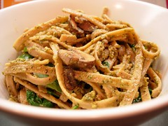 Fettucine with Walnut Pesto.JPG