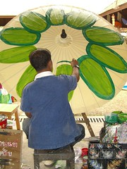 Umbrella Factory Painting