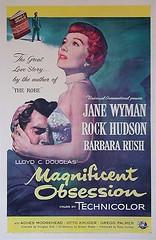 Magnificent Obsession (jon rubin) Tags: movieposter rockhudson janewyman douglassirk magnificientobsession