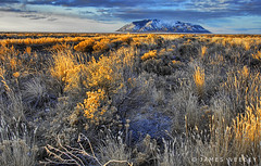 Desert Glow (James Neeley) Tags: mountain mountains sunrise landscape nikon bravo frost butte desert idaho explore arco hdr idahofalls naturesfinest photomatix interestingnesstop10 5xp impressedbeauty bigbutte jamesneeley flickr4