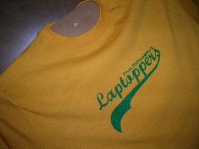 Paul DePodesta's Laptoppers shirt